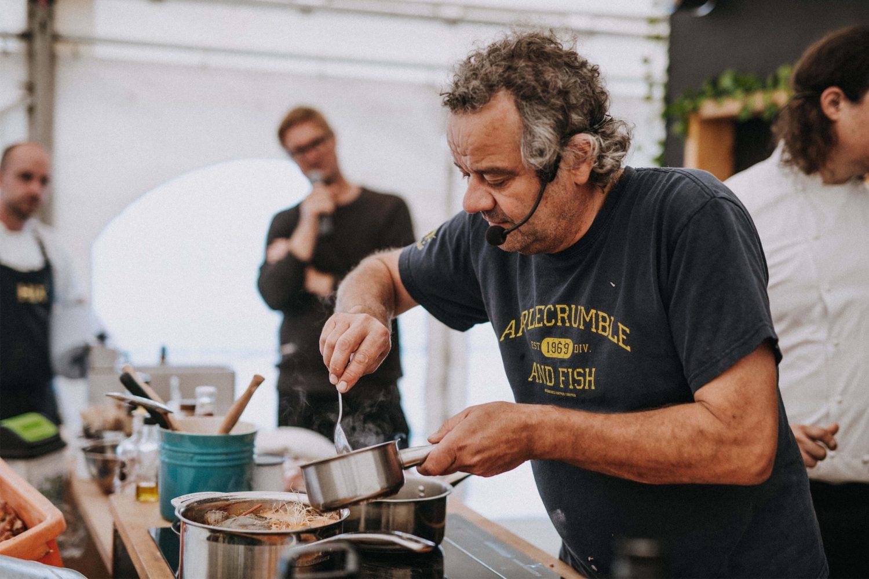 Mark Hix at Food Rocks festival