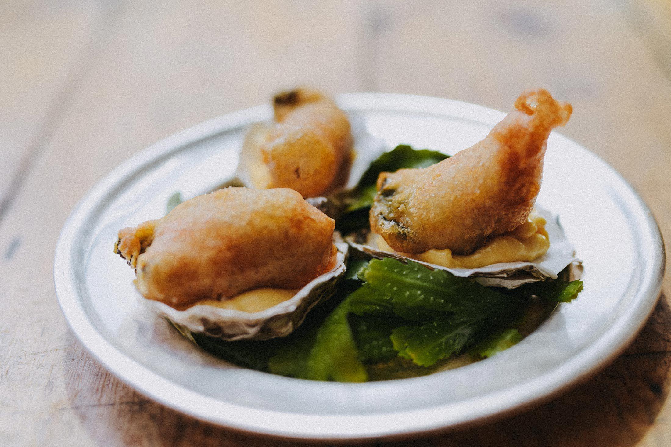 Fried Oysters Mark Hix