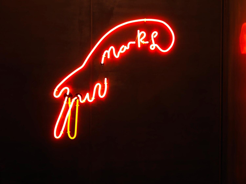 Marks Bar Neon